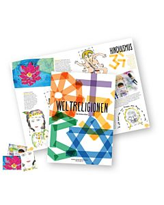 Weltreligionen - Das Stickerheft