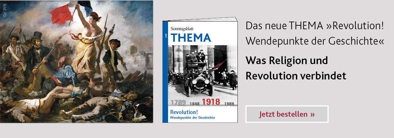THEMA-Magazin Revolution – Wendepunkte der Geschichte