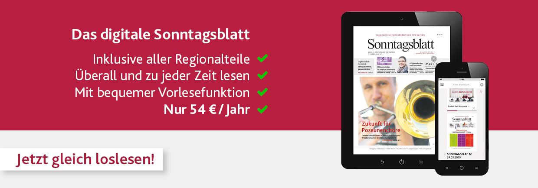 Digitales Sonntagsblatt