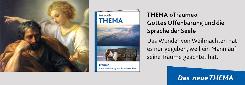 THEMA-Magazin Träume – Gottes Offenbarung und Sprache der Seele