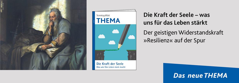 THEMA Magazin Resilienz - Die Kraft der Seele